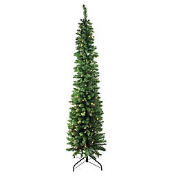 Northlight 6-Foot Traditional Pre-Lit Pencil Christmas Tree