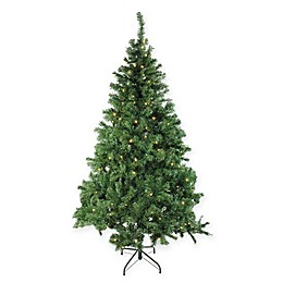 Pre-Lit Mixed Classic Artificial Christmas Tree with Clear Lights