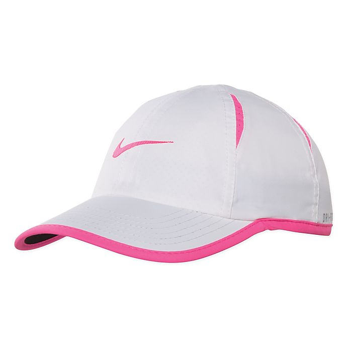 Alternate image 1 for Nike® Dri-Fit Cap in Pink/White