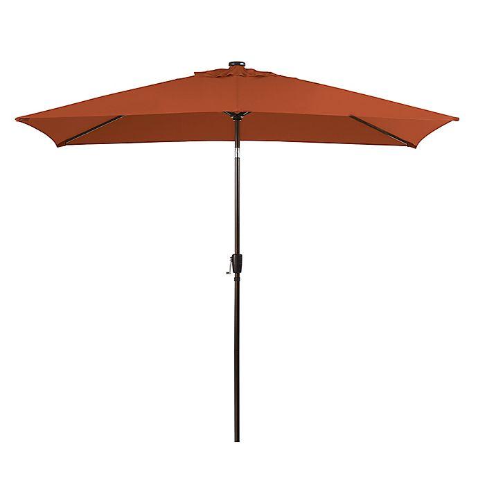 Alternate image 1 for 11-Foot Rectangular Aluminum Umbrella