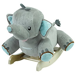 Rockabye™ Stomp the Elephant Musical Rocker
