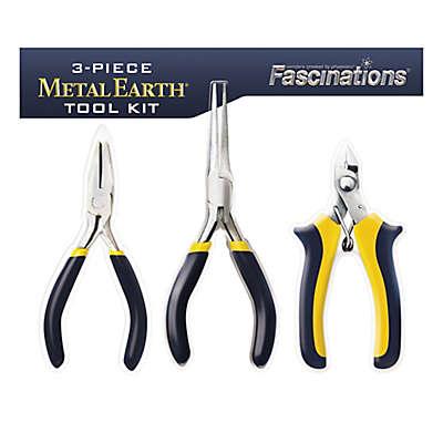 Fascinations 3-Piece Metal Earth Tool Kit