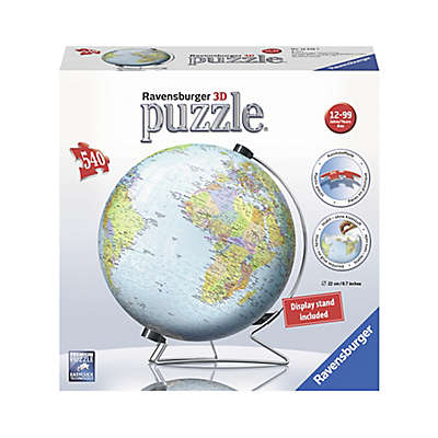 Ravensburger 540-Piece The Earth 3D World Globe Puzzle