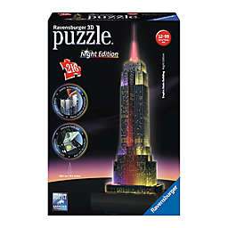 Ravensburger 216-Piece 3D Empire State Building - Night Edition Puzzle