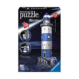 Ravensburger 216-Piece 3D Lighthouse - Night Edition Puzzle