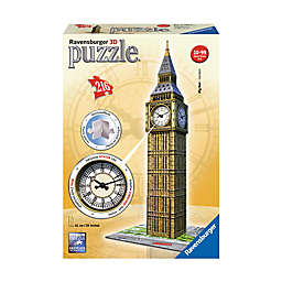 Ravensburger 216-Piece 3D Puzzle Big Ben with Working Clock