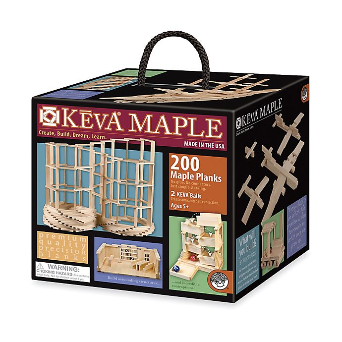 Alternate image 1 for MindWare KEVA Maple - 200 Plank Set