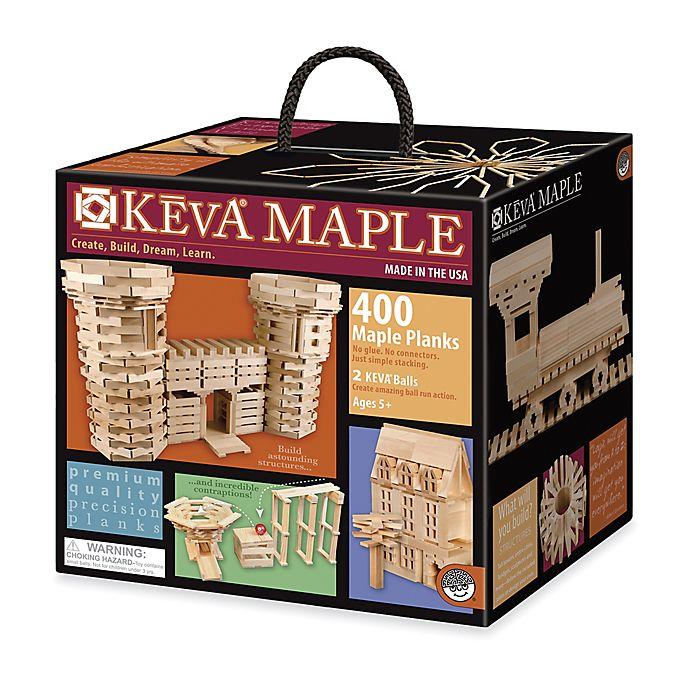 Alternate image 1 for MindWare® 400-Piece KEVA® Maple Plank Set