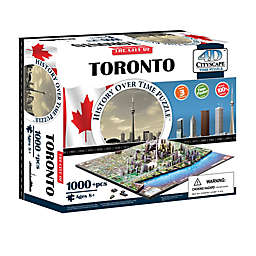 4D Cityscape Time Puzzle - Toronto, Canada