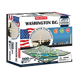 4D Cityscape Time Washington DC, USA Puzzle