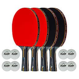 Franklin® Sports Elite Pro Carbon Core 4-Player Table Tennis Paddle Set