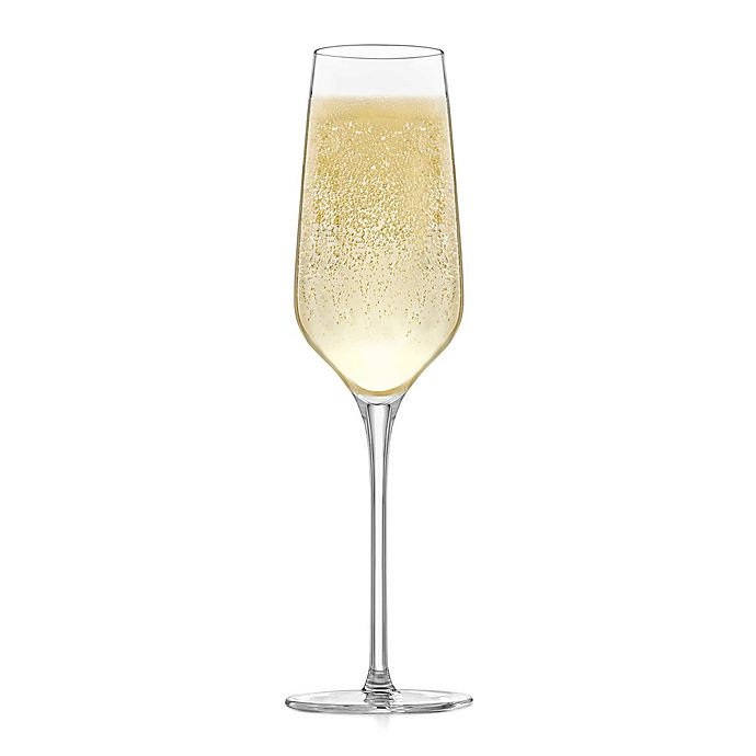Alternate image 1 for Libbey® Glass Signature Greenwich Champagne Flutes (Set of 4)