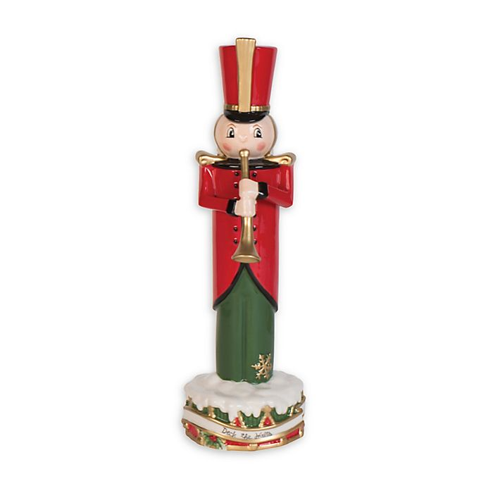 Alternate image 1 for Fitz and Floyd® 12.5-Inch First Ladies Toyland Nutcracker with Horn