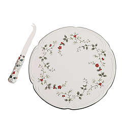 Pfaltzgraff® Winterberry Cheese Tray with Knife
