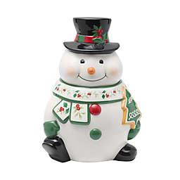 Pfaltzgraff® Winterberry Snowman Cookie Jar