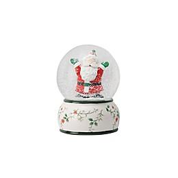 Pfaltzgraff® Winterberry Santa Snow Globe