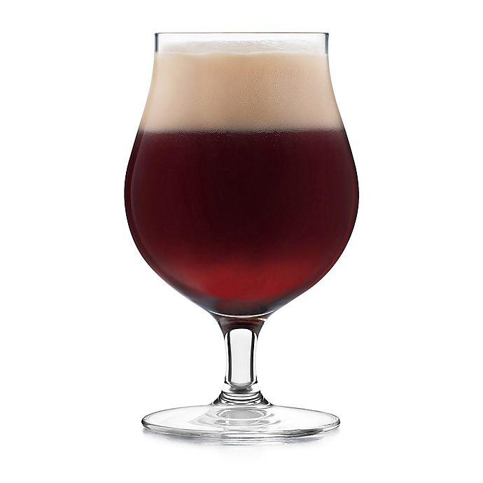 Alternate image 1 for Libbey® Glass Signature Kentfield Belgian Beer Glasses (Set of 4)