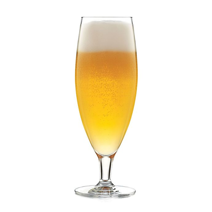 Alternate image 1 for Libbey® Glass Signature Kentfield Pilsner Glasses (Set of 4)