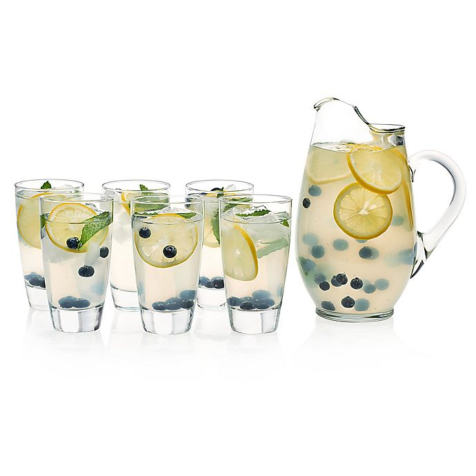 Alternate image 1 for Libbey® Classic 7-Piece Glass Entertaining Set