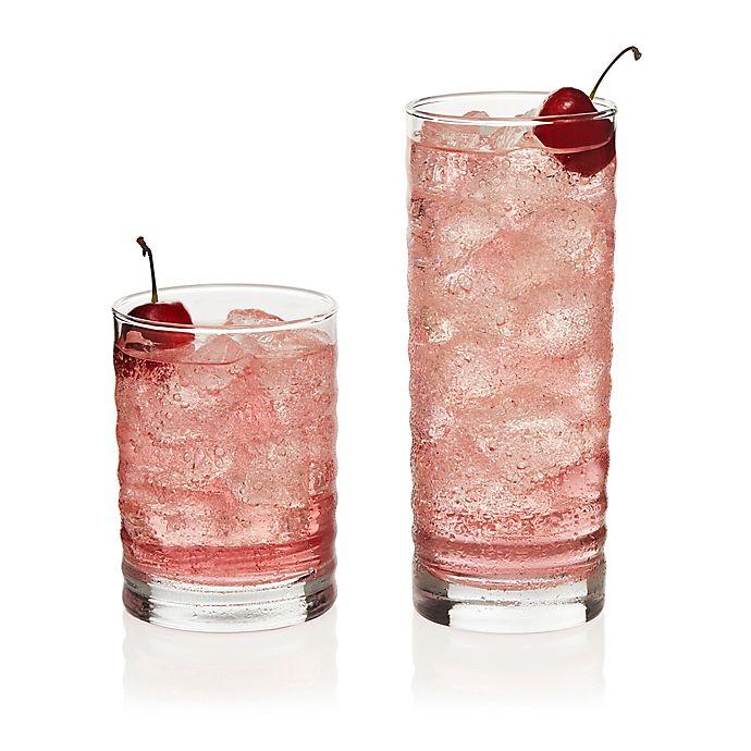Alternate image 1 for Libbey® Pueblo 16-Piece Glass Drinkware Set