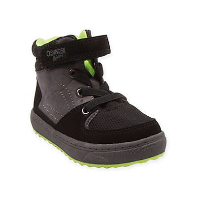 OshKosh B'gosh® High-Top Boot in Grey/Lime