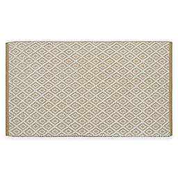 "Diamond Jacquard Value 24"" x 40"" Bath Rug"