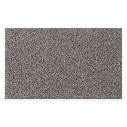 "Melange Value 24"" x 40"" Bath Rug in Grey"