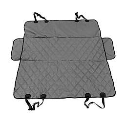 Hammock Style Deluxe Car Seat Protector in Grey