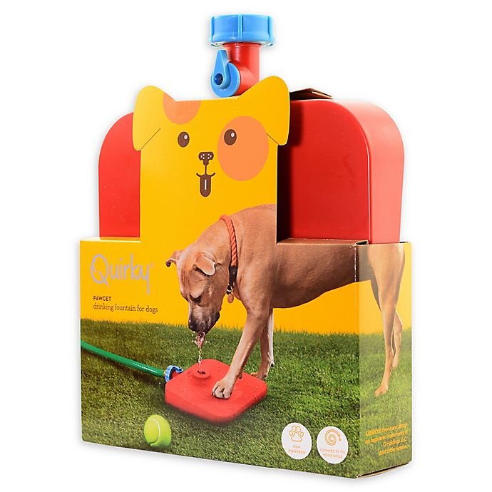 Alternate image 1 for Quirky Pawcet Drinking Fountain for Dogs