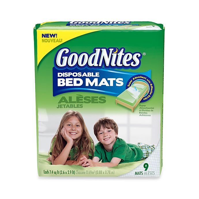 Alternate image 1 for GoodNites Disposable 9-Pack Bed Mats