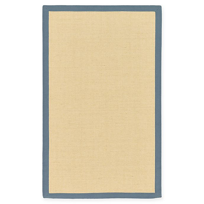 Alternate image 1 for Unique Loom Sandy Sisal 3' X 5' Powerloomed Area Rug in Cream/grey