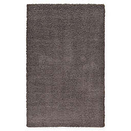 Unique Loom Solid Shag Rug in Graphite Grey