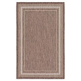 Unique Loom Soft Border Powerloomed Indoor/Outdoor Rug
