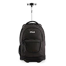 FILA Rolling Backpack in Black
