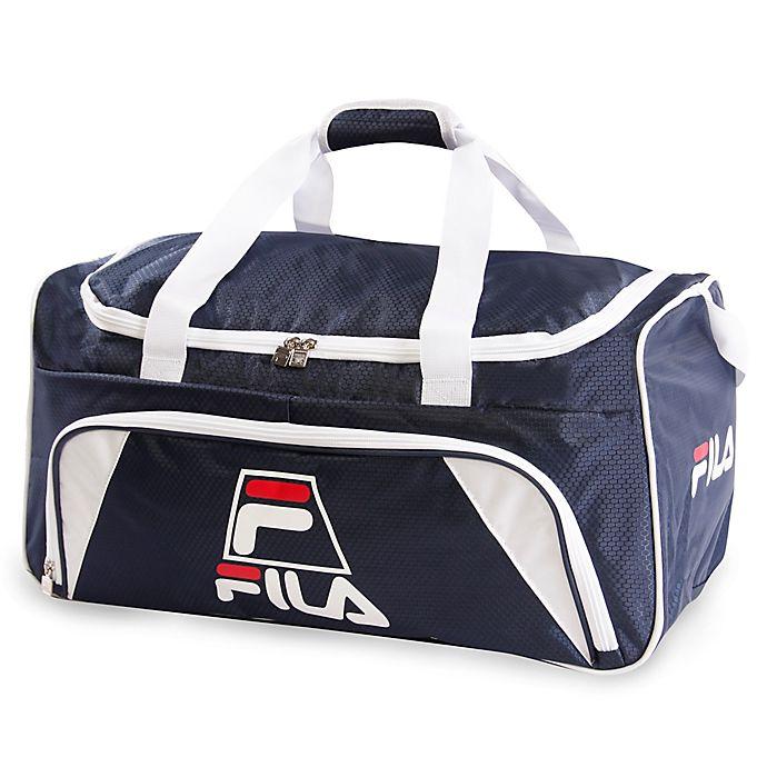 3e315a4304e FILA 22-Inch Sports Duffle Bag in Navy | Bed Bath & Beyond