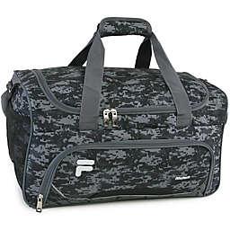 FILA Source Gym Bag in Grey/Black