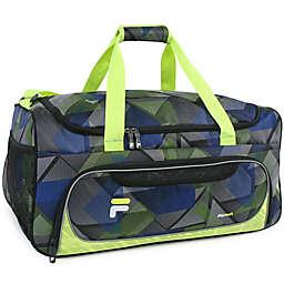 FILA Energy 22-Inch Sports Duffle Bag in Neon
