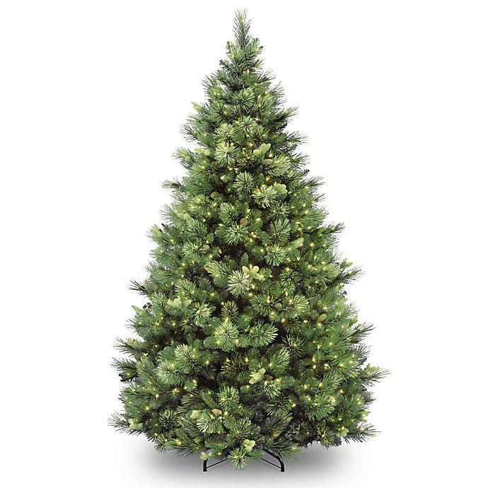 Alternate image 1 for National Tree Company Pre-Lit Carolina Pine Artificial Christmas Tree
