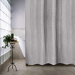 Haven™ Escondido 54-Inch x 78-Inch Stall Shower Curtain in Silver