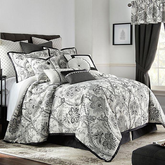 Alternate image 1 for Rose Tree Valencia Reversible King Comforter Set in Platinum