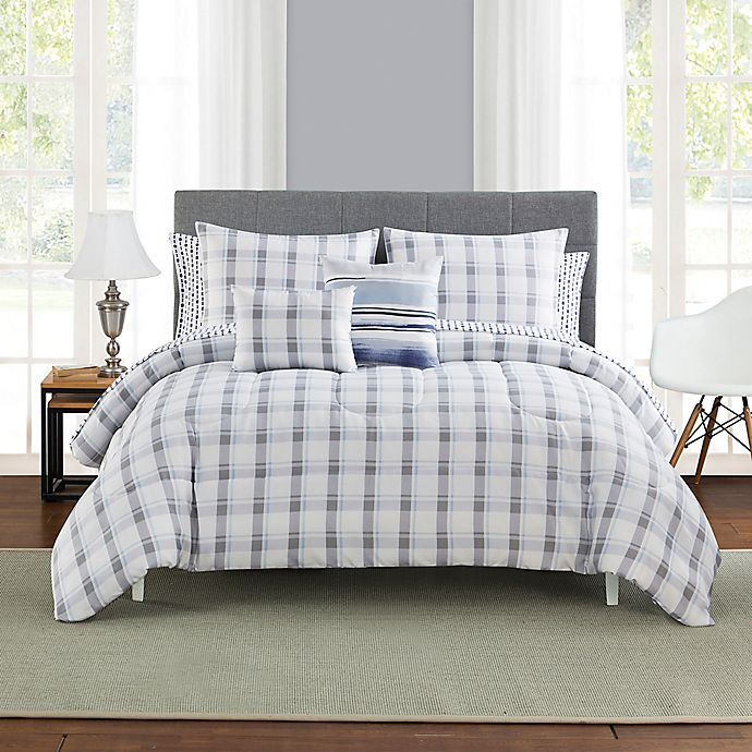 Alternate image 1 for Scarborough Reversible Comforter Set