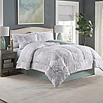 Adeline 8-Piece King Comforter Set in Seaglass
