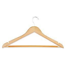 Honey-Can-Do® 28-Pack Wooden Suit Hangers