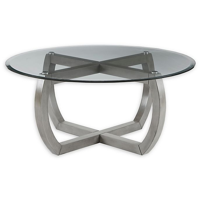 Alternate image 1 for Madison Park Signature Nob Hill Coffee Table in Chadron Grey