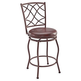Linon Home Lexi Stools in Brown (Set of 3)