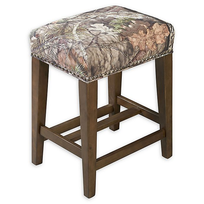 Alternate image 1 for Linon Home Mossy Oak 24.5-Inch Backless Counter Stool