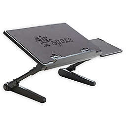 AirSpace Adjustable Laptop Desk in Black