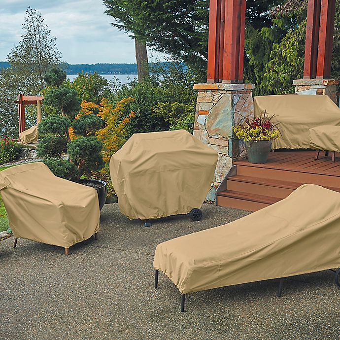 Alternate image 1 for Classic Accessories Terrazzo Outdoor Furniture Cover Collection