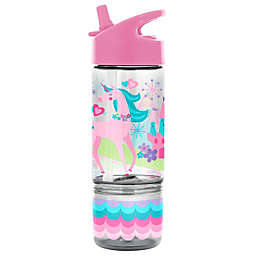 Stephen Joseph Unicorn 8 oz. Sip and Snack Bottle