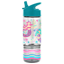 Stephen Joseph Mermaid 8 oz. Sip and Snack Bottle